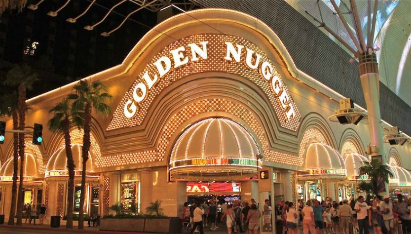 golden nugget devanture du casino